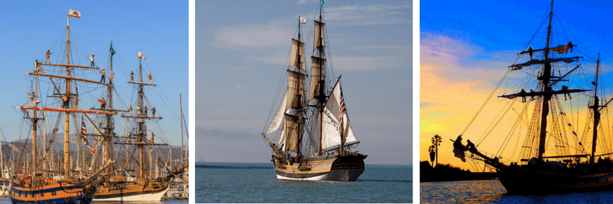 tall ships foot