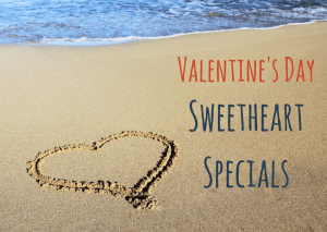 Valentine's Day Sweetheart Specials