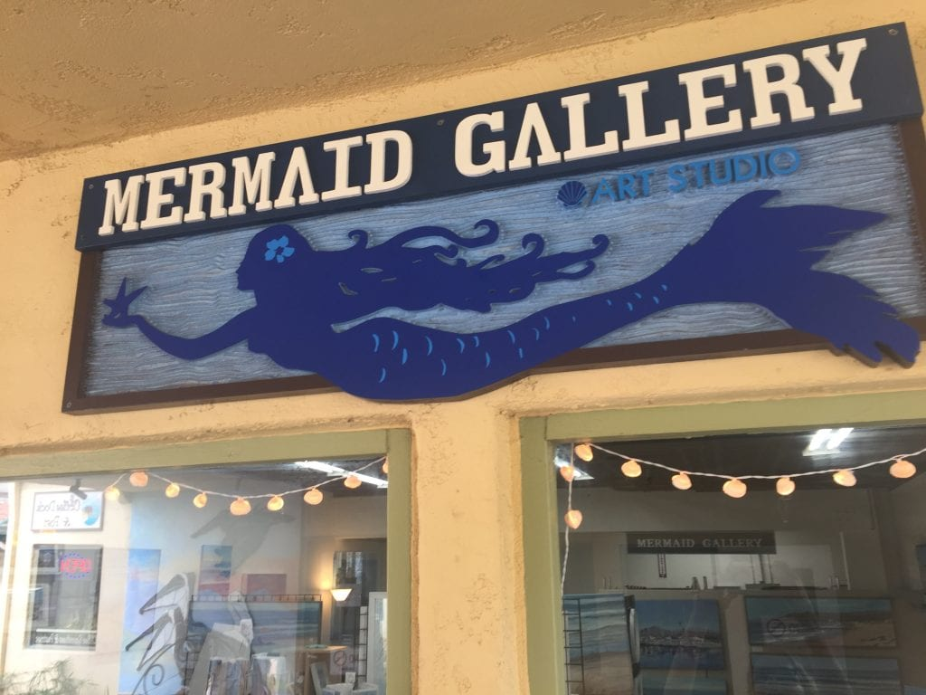Mermaid Gallery Tina O'Brien Gallery fine art paintings
