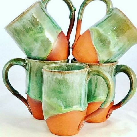 VC potters guild and gallery mugs