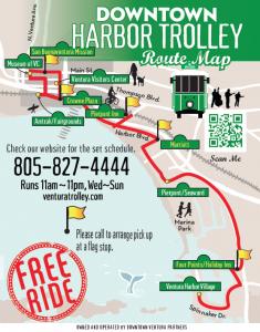 Ventura Harbor Village Downtown Trolley