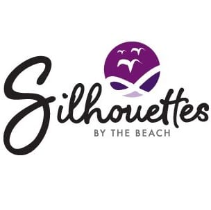 Silhouettes By The Beach