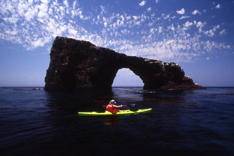 Channel Islands National Park kayak Chuck Graham Ventura Harbor