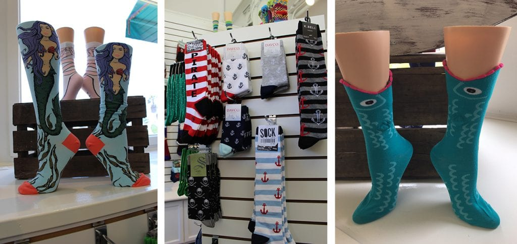 Lost in Socks boutique Ventura Harbor Village