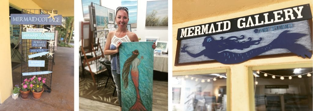 Mermaid Gallery Tina O Brien Gallery Studio Ventura Harbor Village