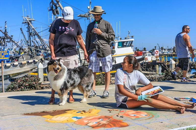 Ventura Art & Street Painting Festival Ventura Harbor Village