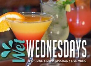 Wet Wednesday Shop Dine Drink Specials Happy Hour Ventura Harbor Village