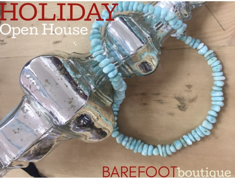 Barefoot Boutique Holiday Open House