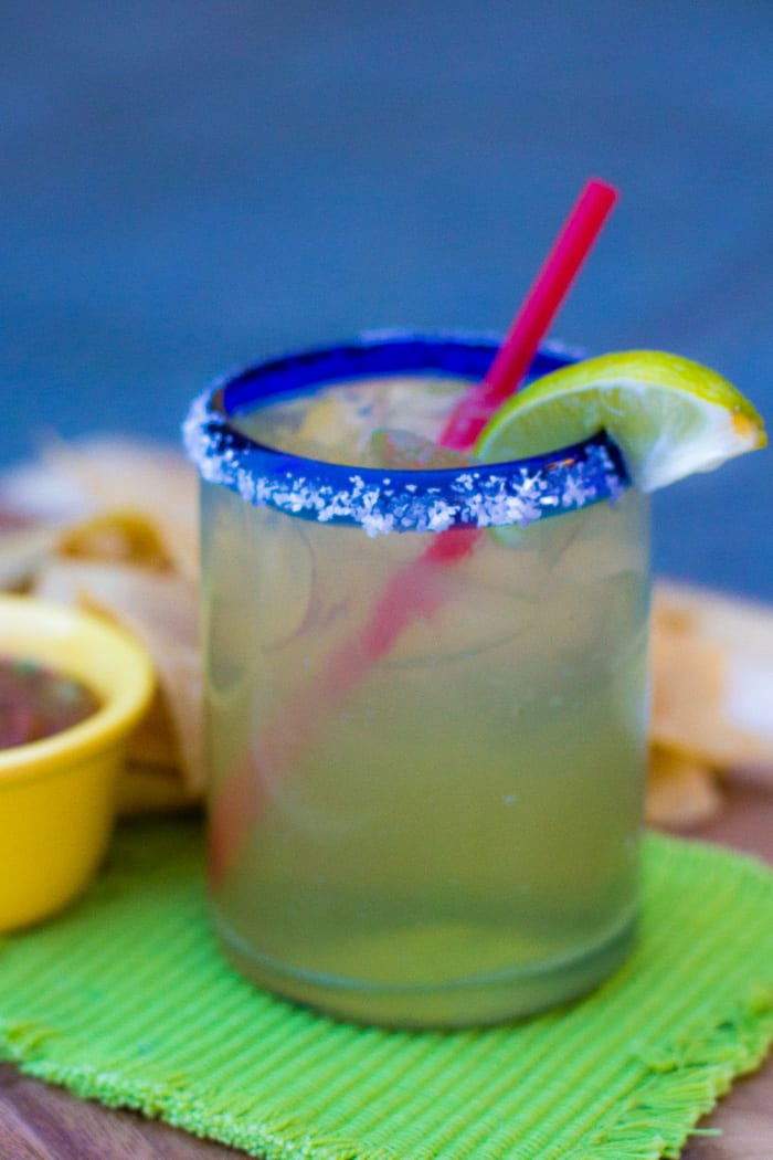 a yummy margarita is a perfect way to end your day