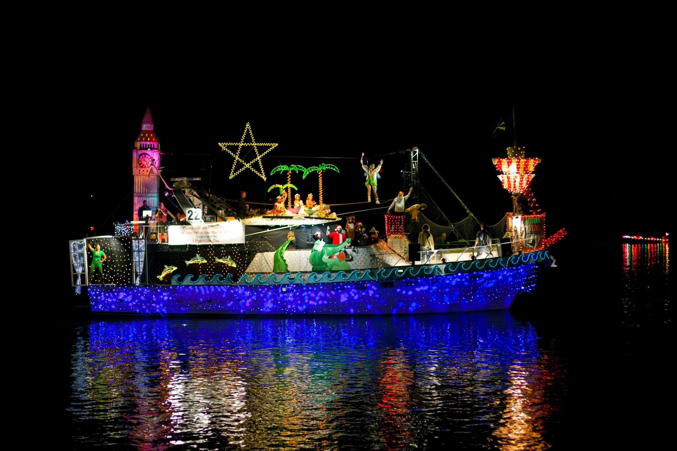 2017 Parade of Lights Best in Show Boat
