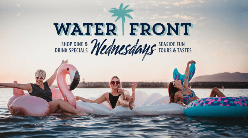 enjoys wednesday on the waterfront in ventura harbor village!
