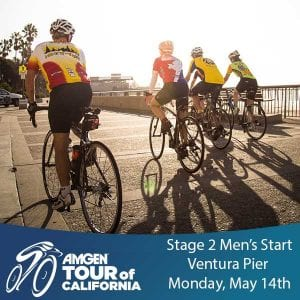Amgen Tour Of California Stage 2 Ventura Pier