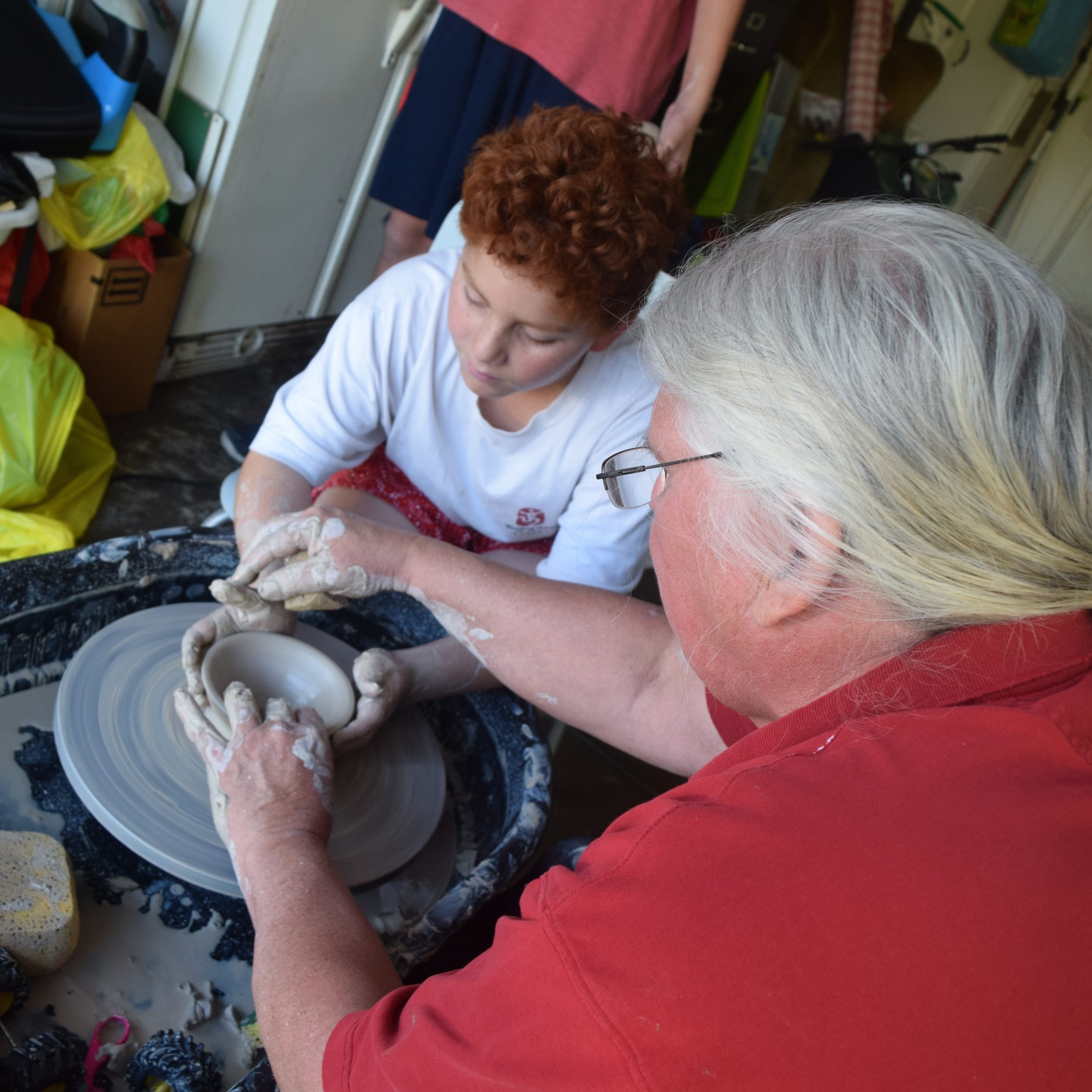 Mermaid Pottery Demonstrations