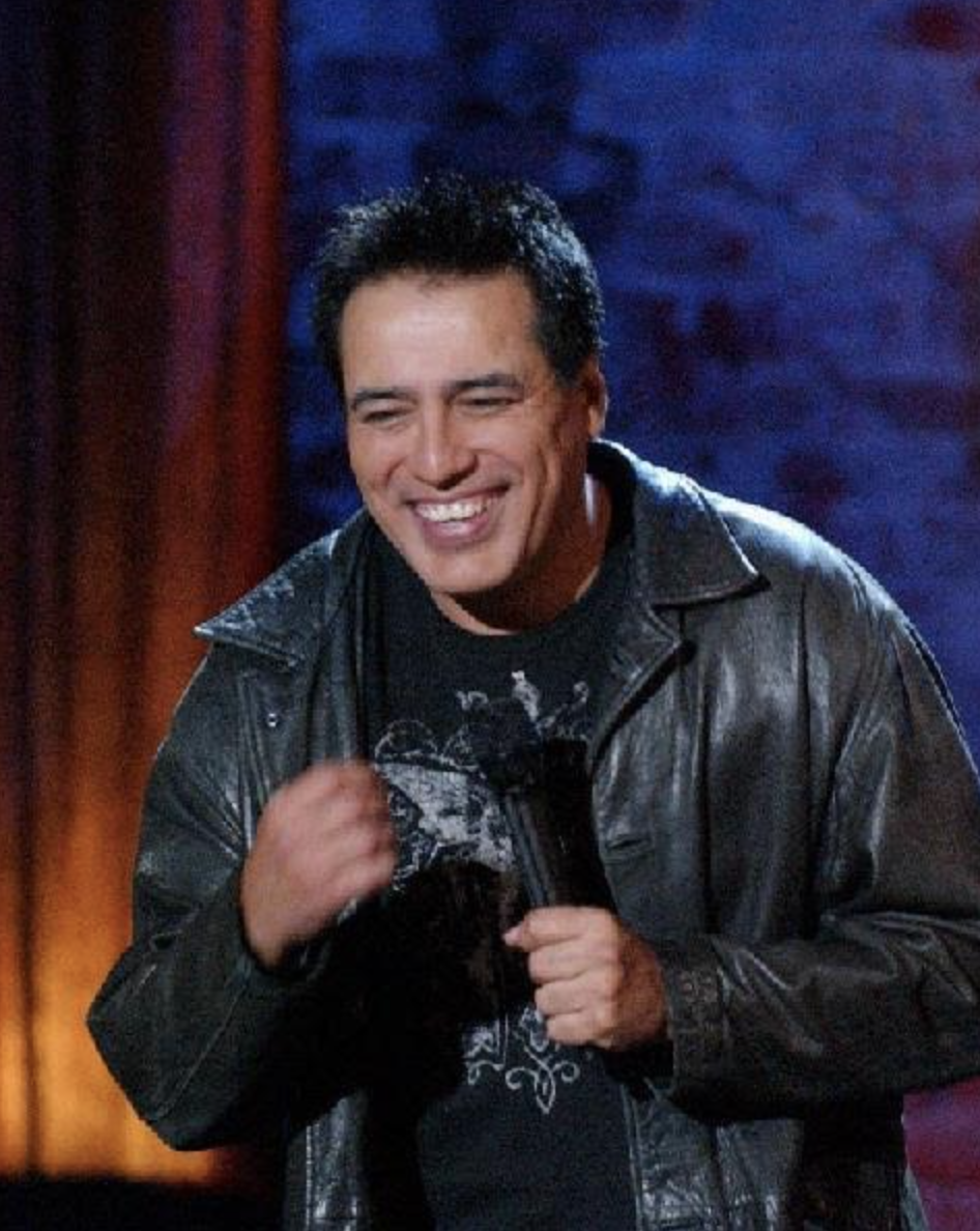 Willie Barcena at the Comedy Club