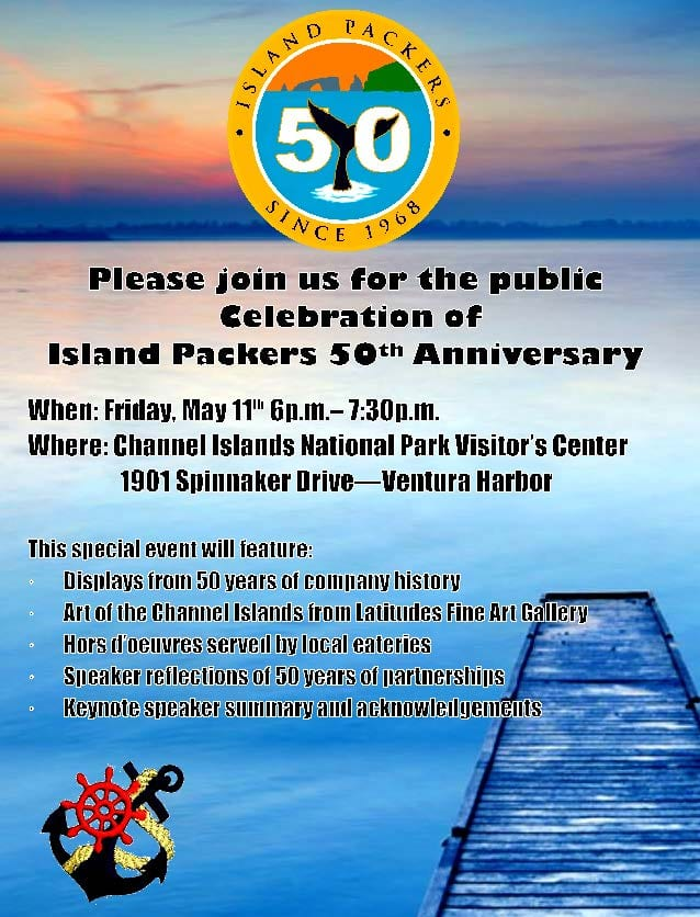 Island Packers Invitation Image