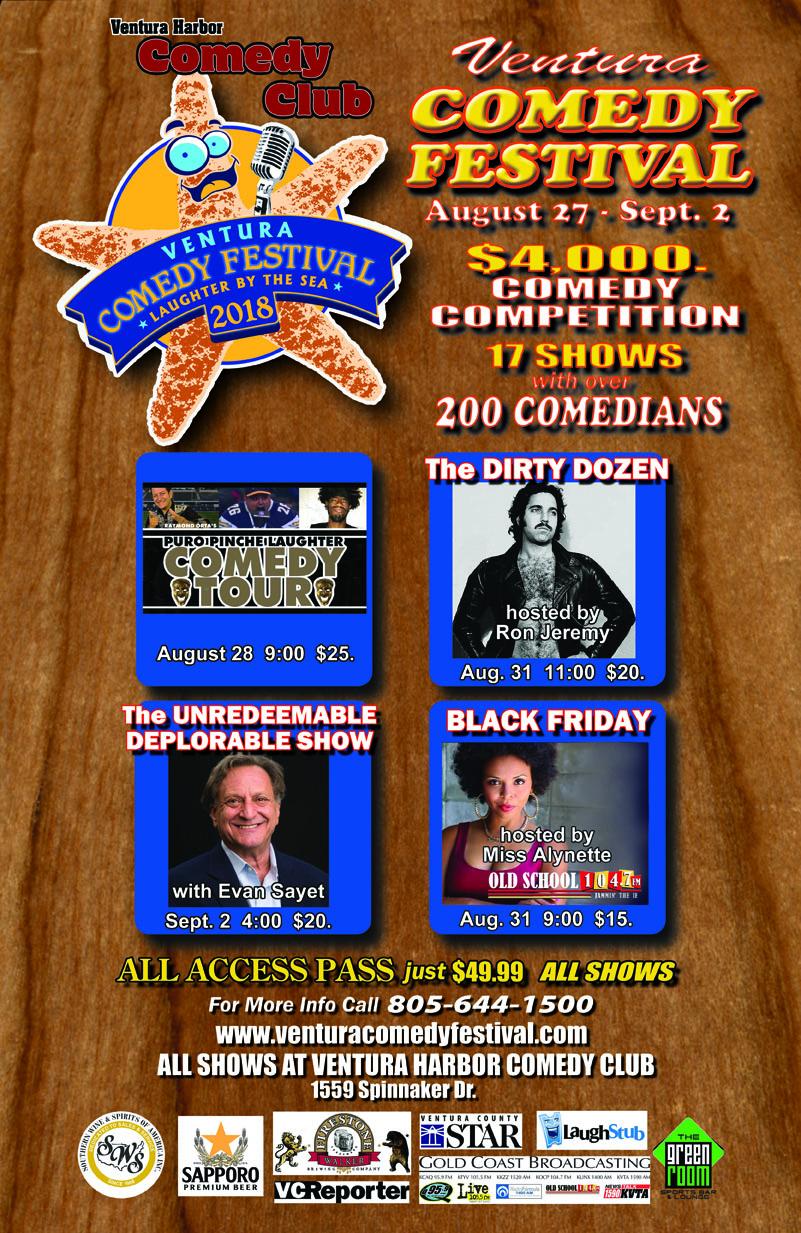Comedy Club festival poster