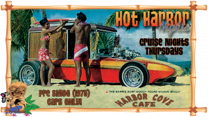 Hot Harbor Nights with a Car Cruise near Harbor Cove Cafe
