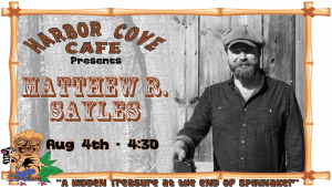 Harbor Cove Cafe with Matthew R. Sayles