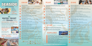 list of everything to enjoy in summer of 2018 at Ventura Harbor Village