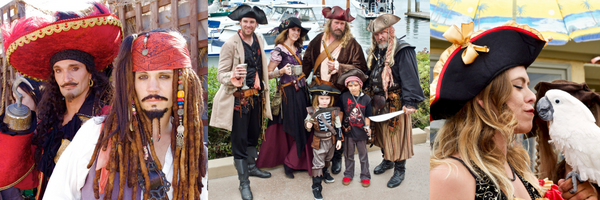 pirates take over Ventura harbor village