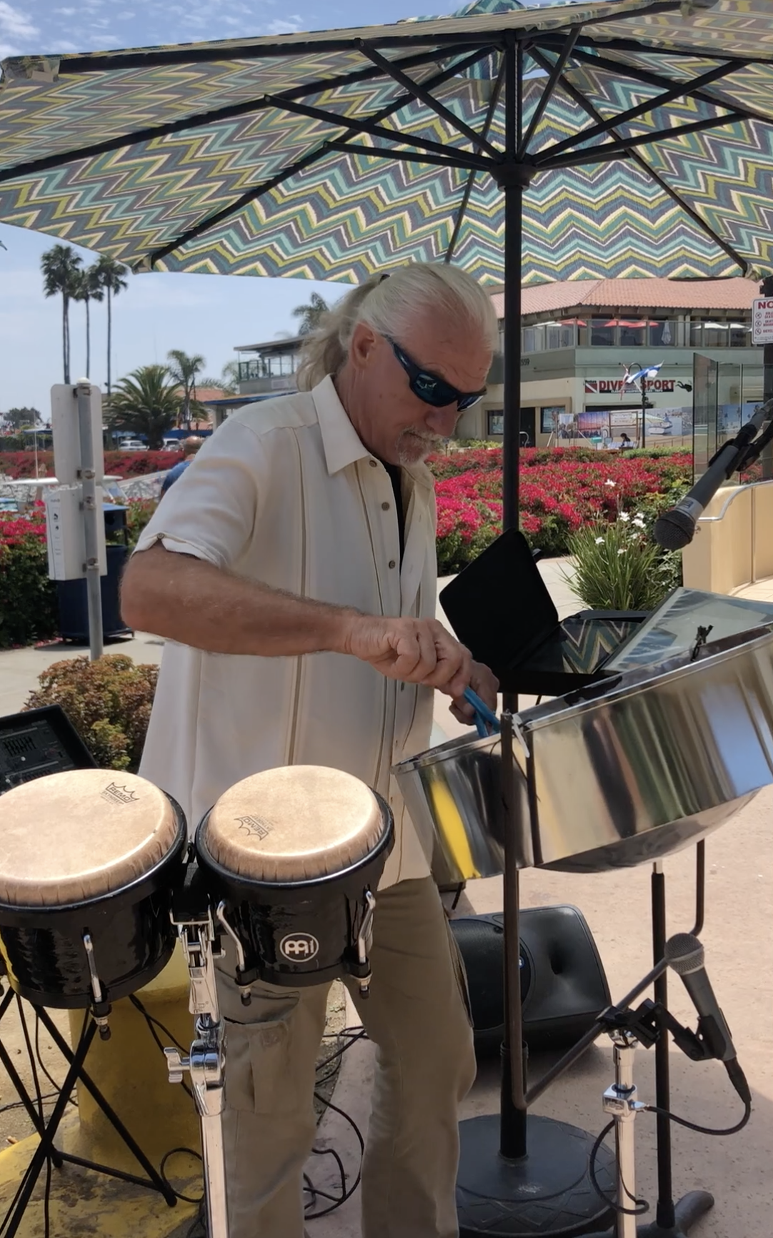 steel drummer in Ventura Harbor Village