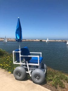beach wheelchair now available at ventura harbor