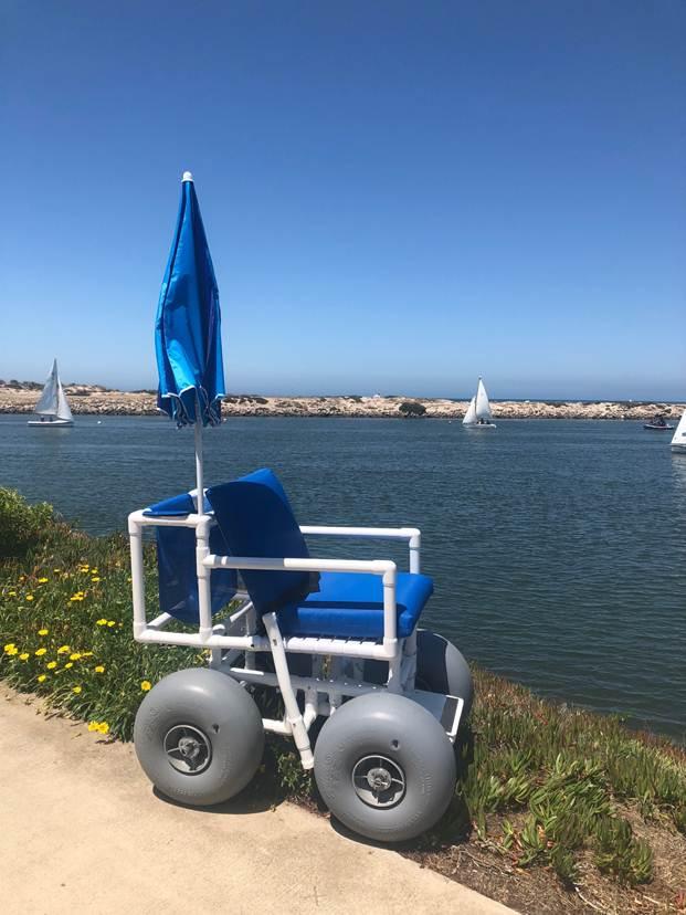 beach wheelchair now available at ventura harbor
