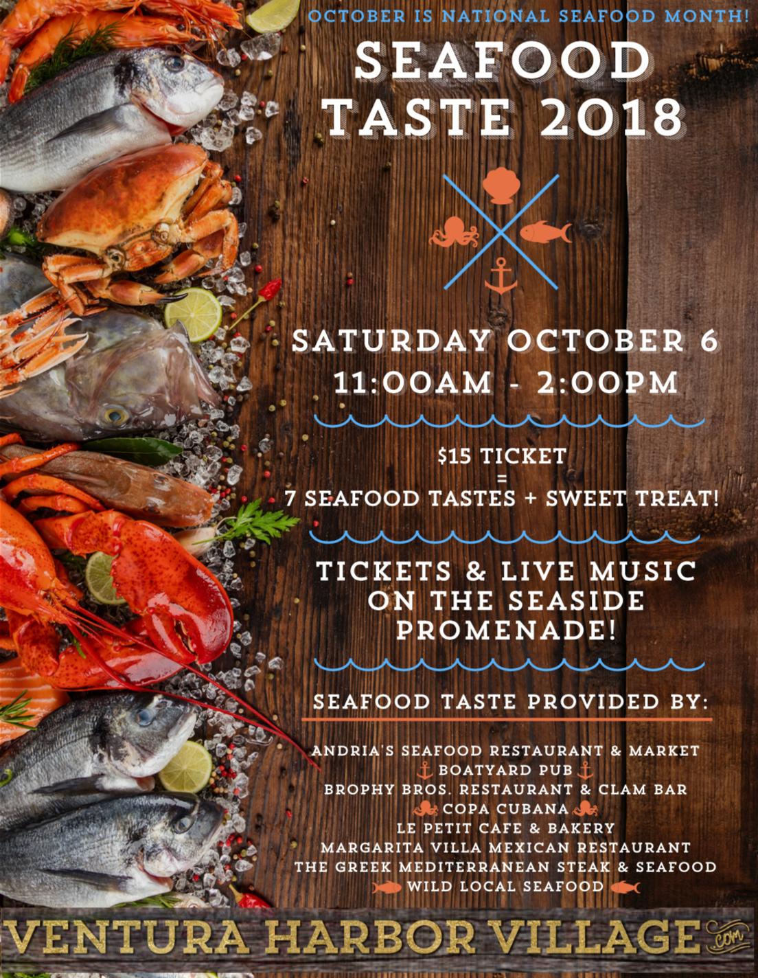 Seafood taste 2018!
