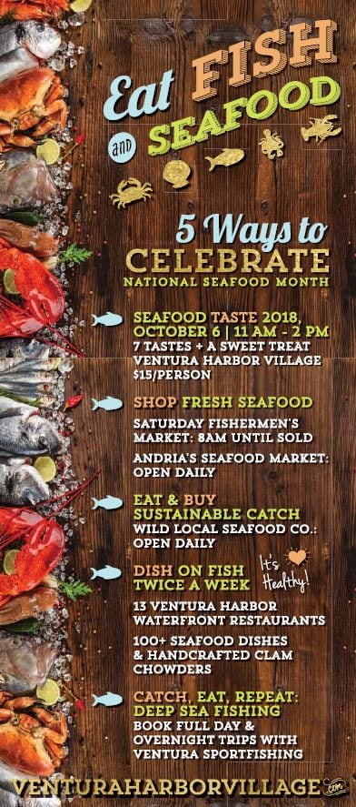 how to celebrate national seafood month