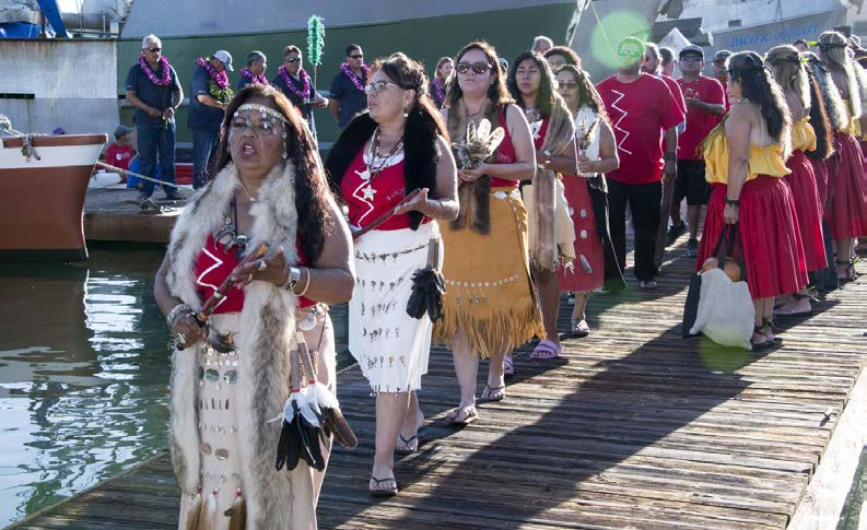 chumash ceremony