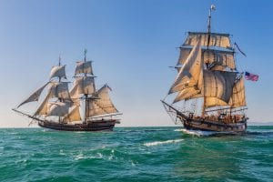 Tall Ships are back in Ventura Harbor Village!