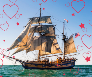 Valentines Day Sail with your sweatheart