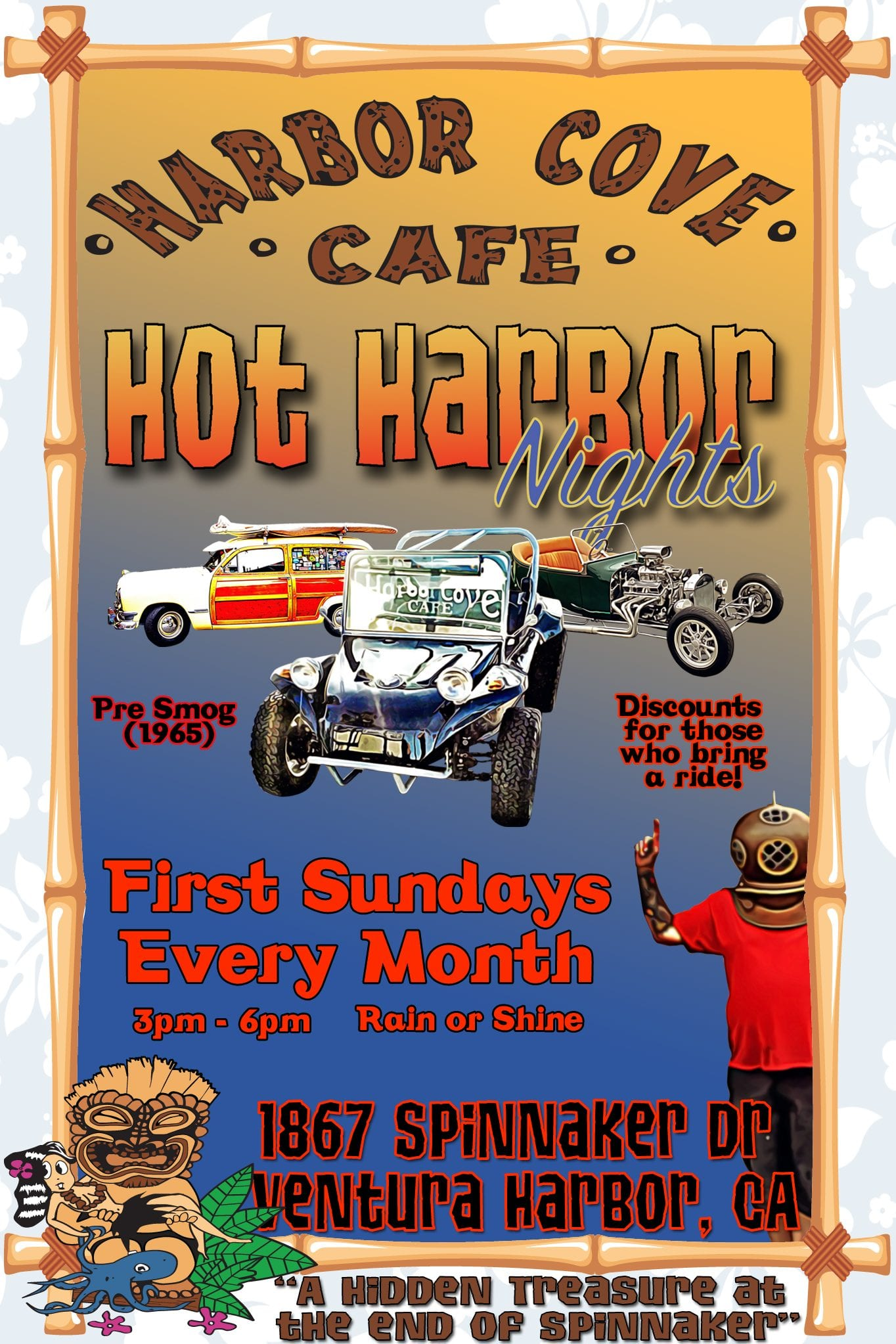 hot harbor nights at harbor cove cafe
