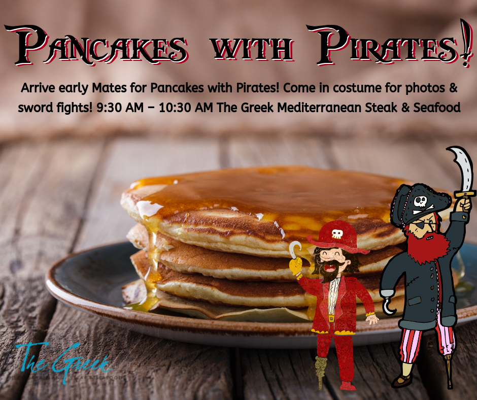 pancakes with pirates
