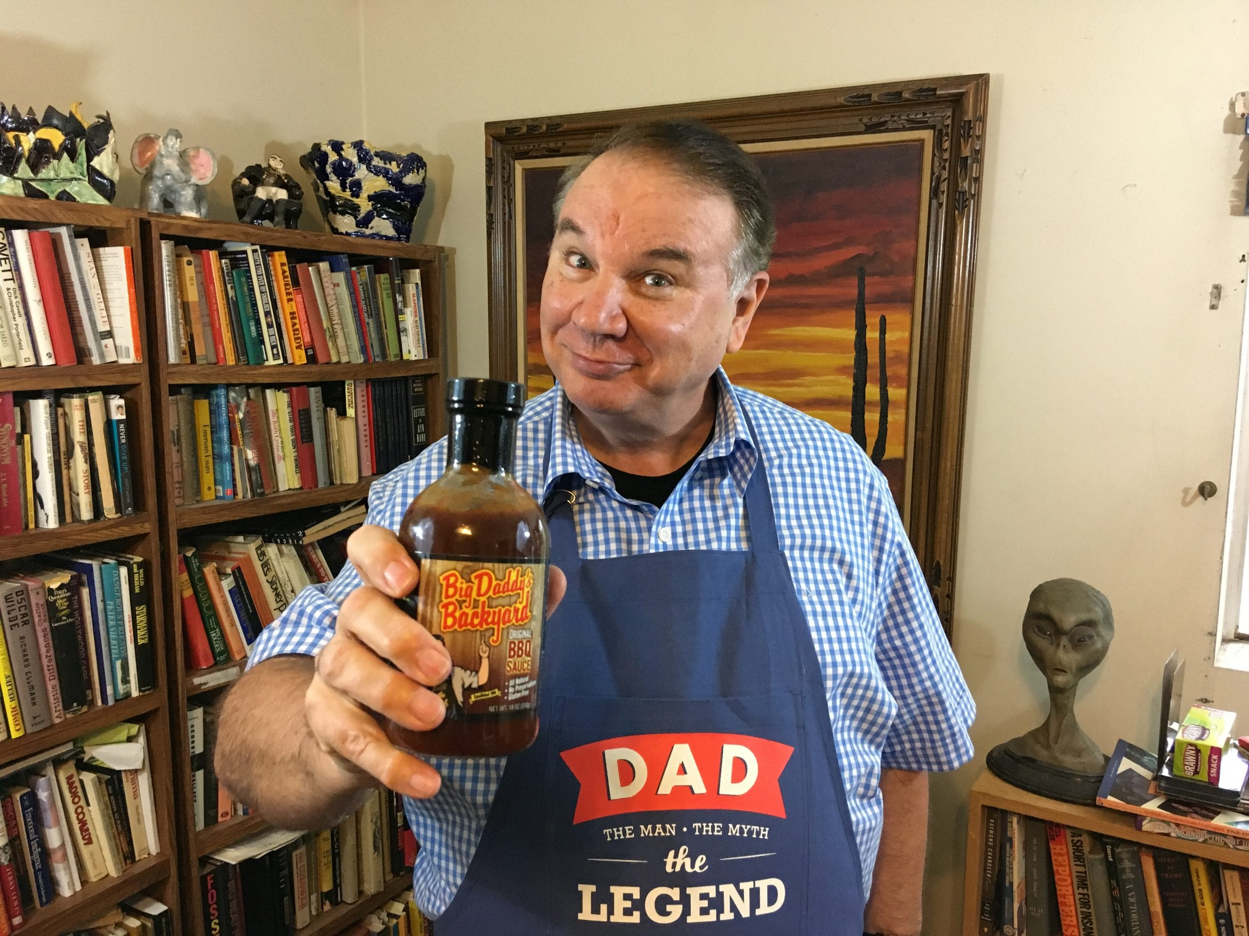 big daddy delivers laughs on fathers day
