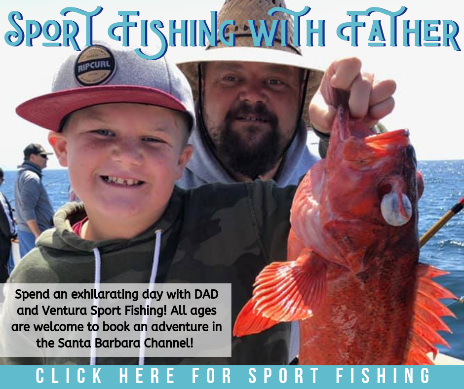 sport fishing with your father