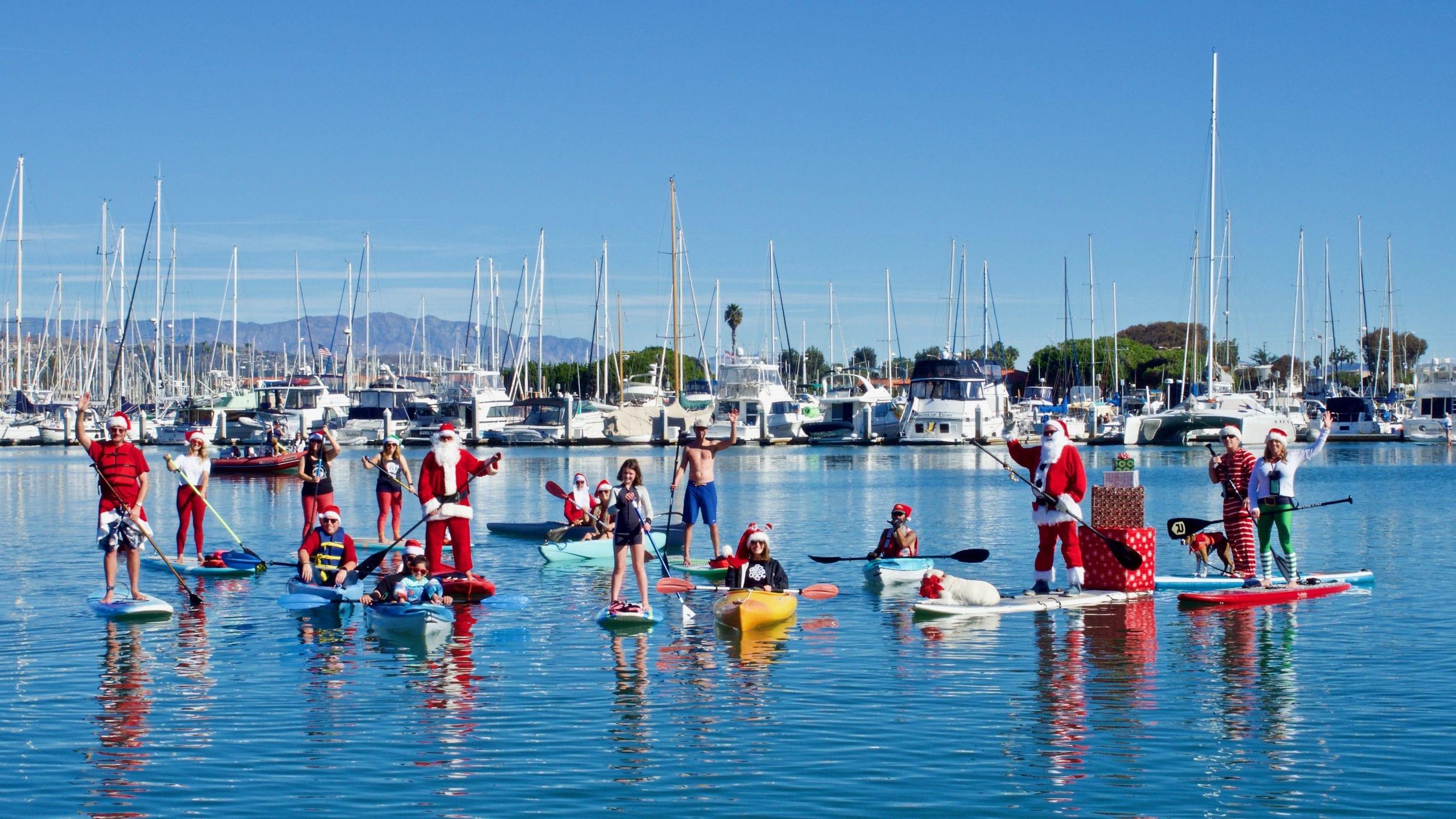 Santa Paddle