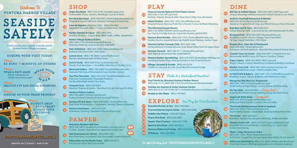 village map, come SEA the tall ships and get ready for this season of seaside fun