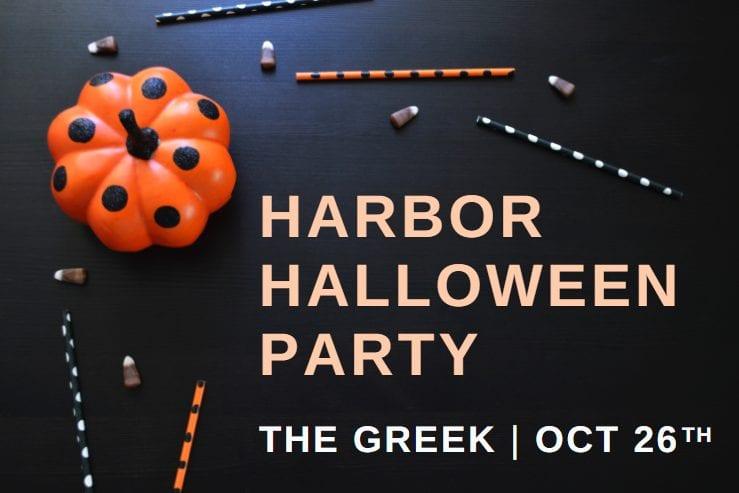 greek harbor halloween