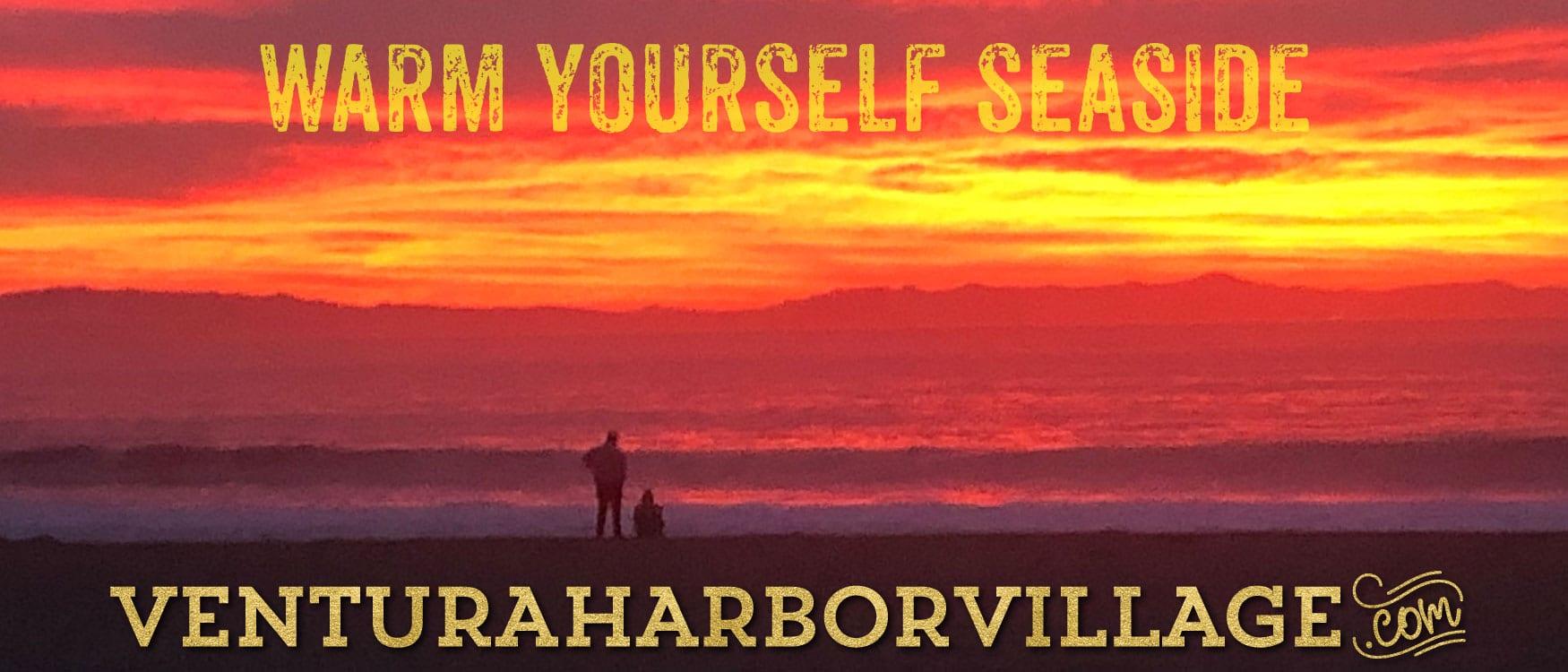 Warm Yourself Seaside Banner