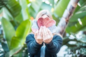 fanned hearts