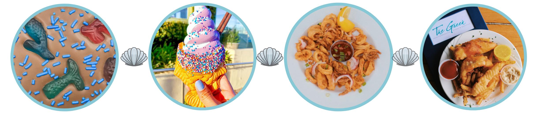 Mermaid Treats and desserts