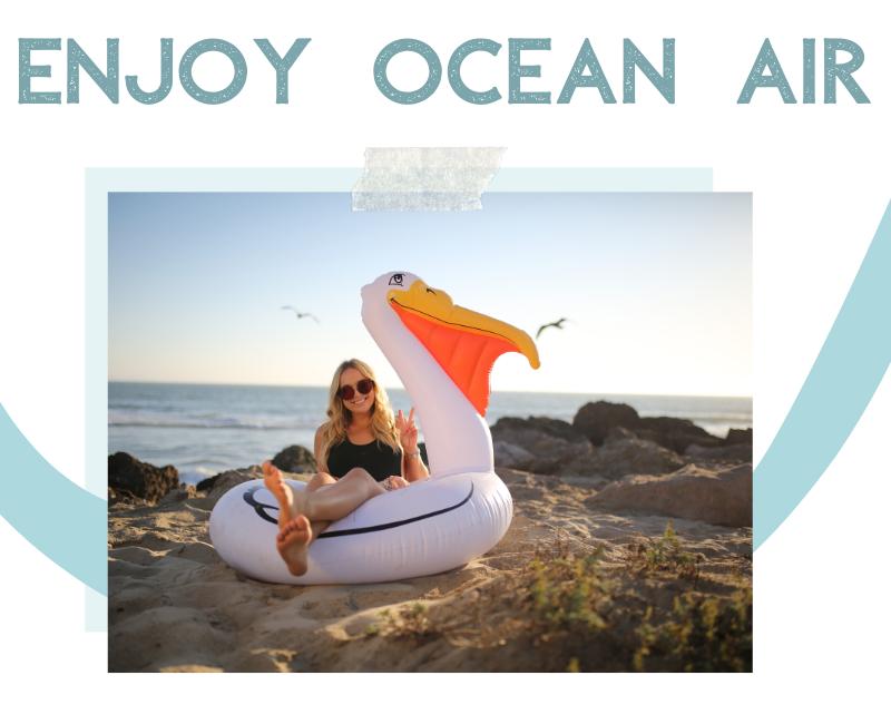 enjoy ocean air