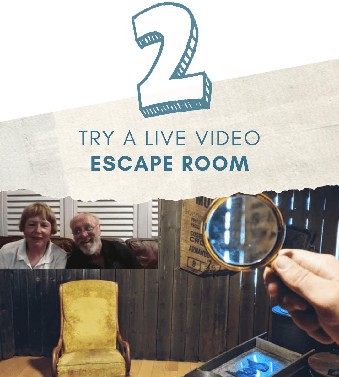 try live vido escape room