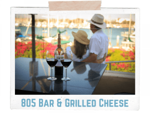805 bar and grilled cheese