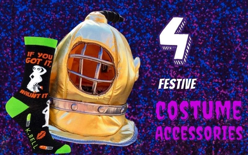 costume accessories at the harbor for halloween