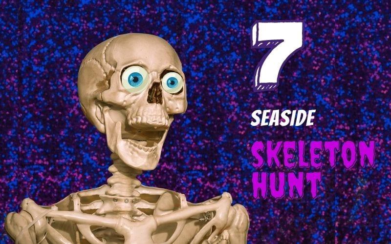 skeleton halloween hunt