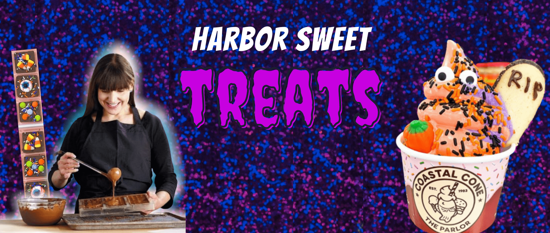 halloween treats banner