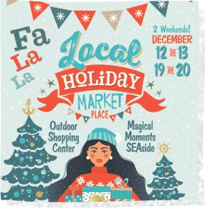 fa la la la local holiday market