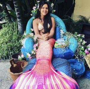 mermaid christen